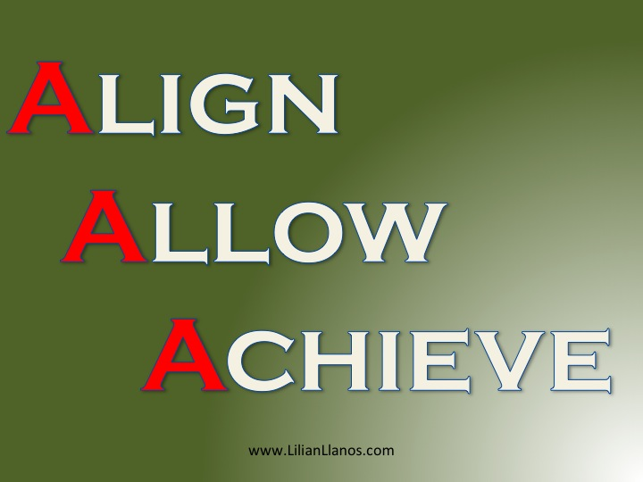 Align, Allow, Achieve: 3 Steps to Manifesting